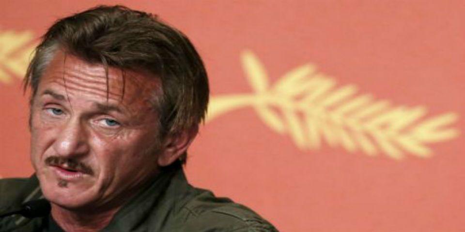 Abuchean a Sean Penn en Cannes - Foto de Twitter