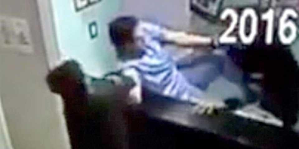 Video: veterinario golpea a asaltantes armados en Monterrey - Foto de YouTube