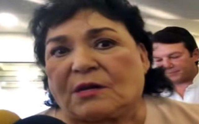 Carmen Salinas alerta sobre estafadores que piden dinero a su nombre - Foto de 24 Horas.