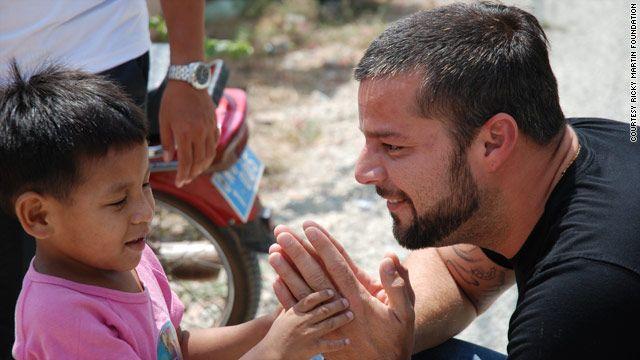 Ricky Martin exige ayuda para niños desplazados en Siria - Foto cortesía de Ricky Martin
