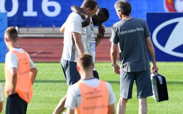 Alemania pierde a Rüdiger por lesión y lo reemplaza Jonathan Tah - Foto de Twitter