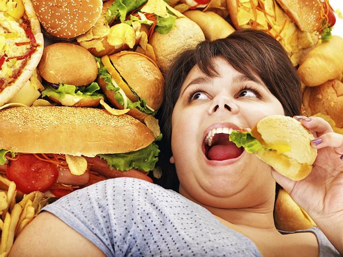 Obesidad infantil. Foto de Internet