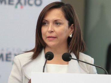Cristina Díaz, senadora del PRI. Foto de Internet
