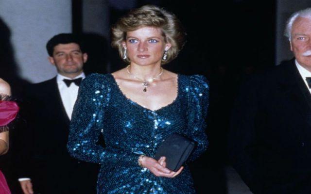 Subastan vestido de la princesa Diana en 2.5 millones de pesos - Foto de internet