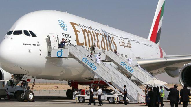 Emirates reduce vuelos a Estados Unidos por medidas migratorias - Emirates. Foto de Getty