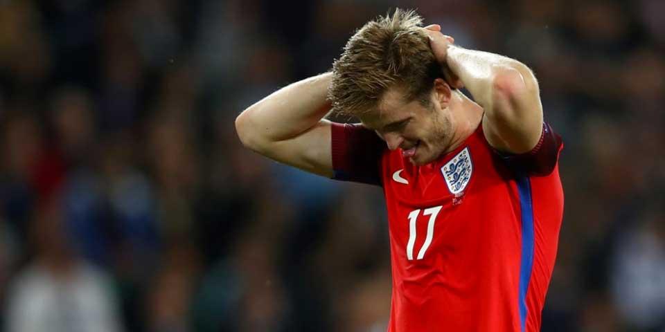Inglaterra empata con Eslovaquia y deja ir el liderato - Foto de UEFA