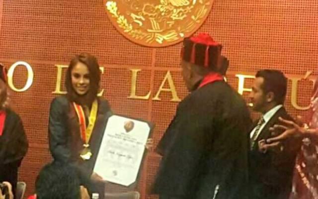 Fundación Honoris Causa concede Medalla Iberoamericana a Paola Longoria - Foto de @paolongoria