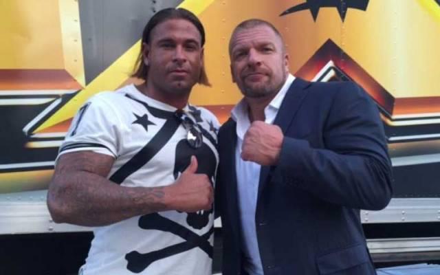 Exportero alemán entrenará con la WWE - Foto de @Tim_Wiese