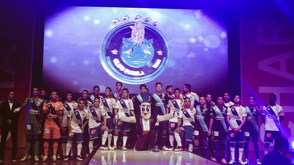 Puebla muestra su nuevo logo - Foto de @PueblaFC