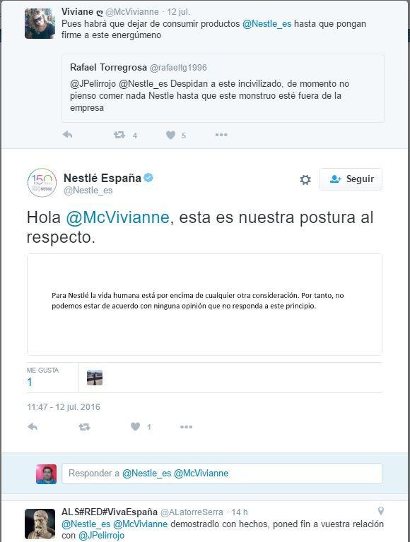 Tuit Nestlé España