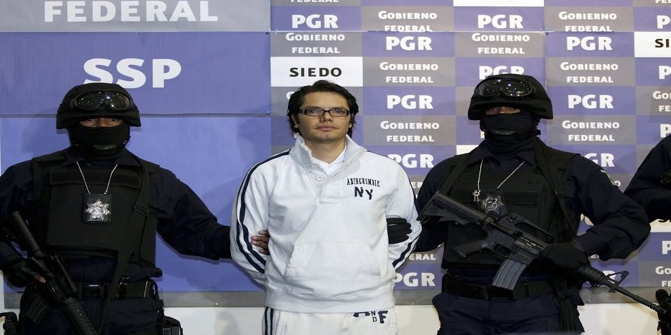 """Niega juez federal libertad al """"Vicentillo"""" - Foto de Cuartoscuro."""