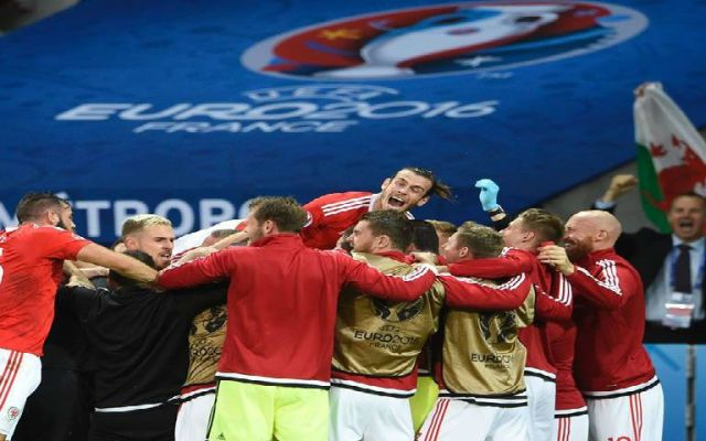 Histórico triunfo de Gales en la Euro - Foto de UEFA EURO