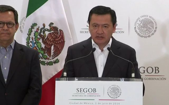 """""""Se agotó el tiempo. Los bloqueos deben terminar"""": Osorio Chong"""