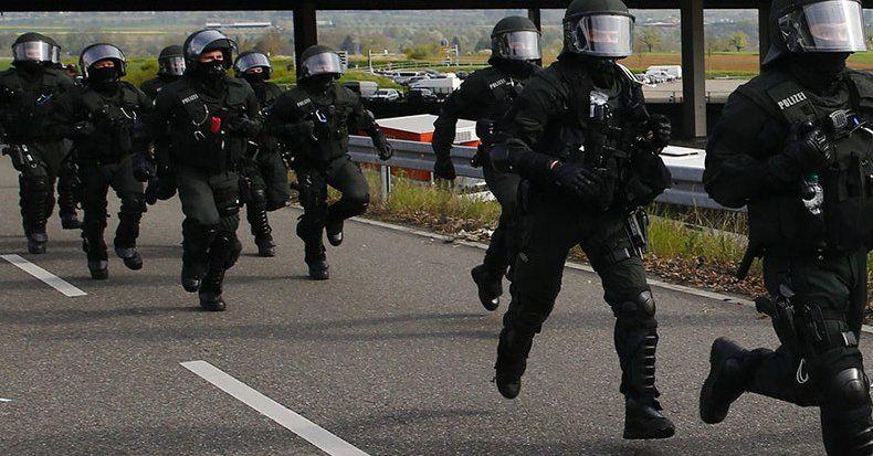 Movilización en Stuttgart por toma de rehenes - Foto de internet