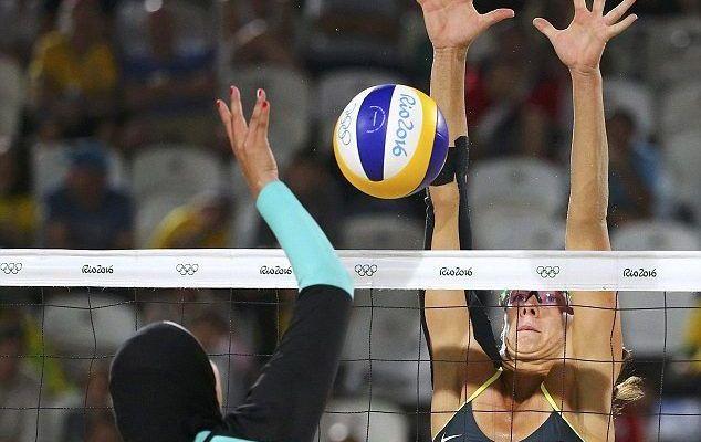 Choque cultural en el voleibol de playa femenil