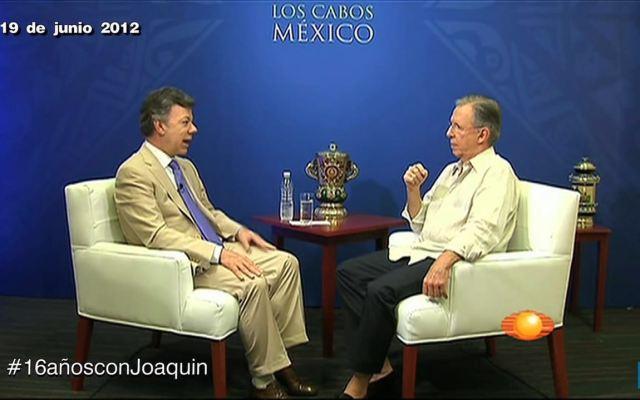 #16añosconJoaquin Entrevista a Juan Manuel Santos
