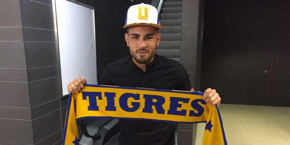 Francés Andy Delort llega a Monterrey para firmar con Tigres - Foto de Tigres UANL