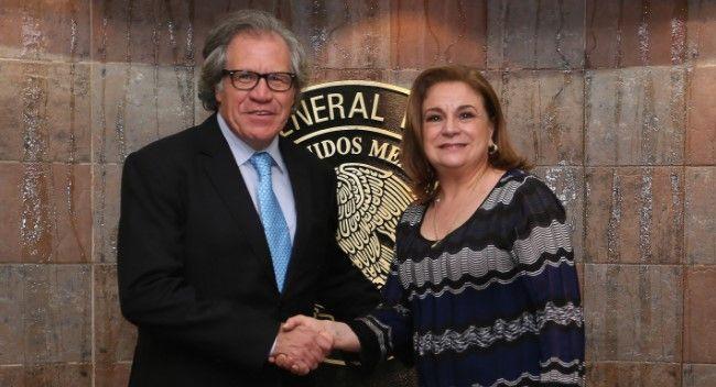Procuradora Arely Gómez recibe a secretario general de la OEA - Foto de Gobernación