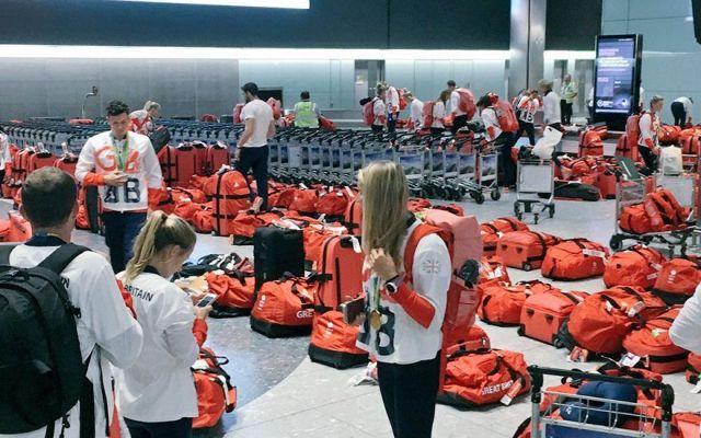 La última misión de los atletas británicos de Río: encontrar su maleta
