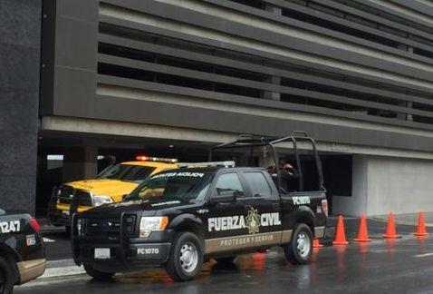 Muere trabajador al caer de una altura de 30 metros en Monterrey - Foto de internet