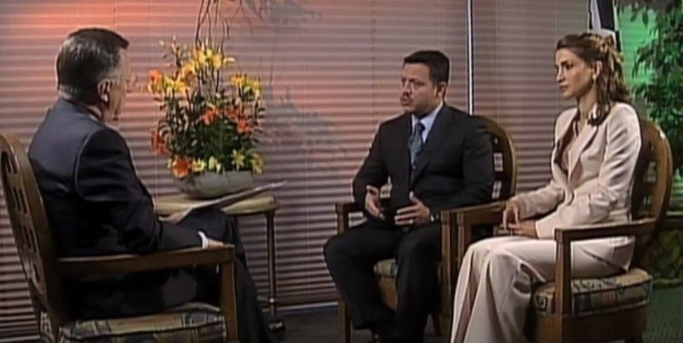 #16añosconJoaquín Entrevista a los reyes de Jordania - Foto de YouTube