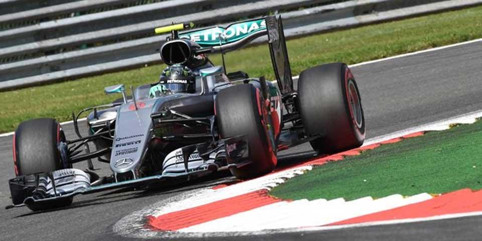Nico Rosberg se queda con la pole en Bélgica - Foto de Internet