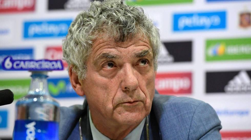 Ángel Villar renuncia a UEFA y FIFA - Ángel María Villar. Foto de El País.