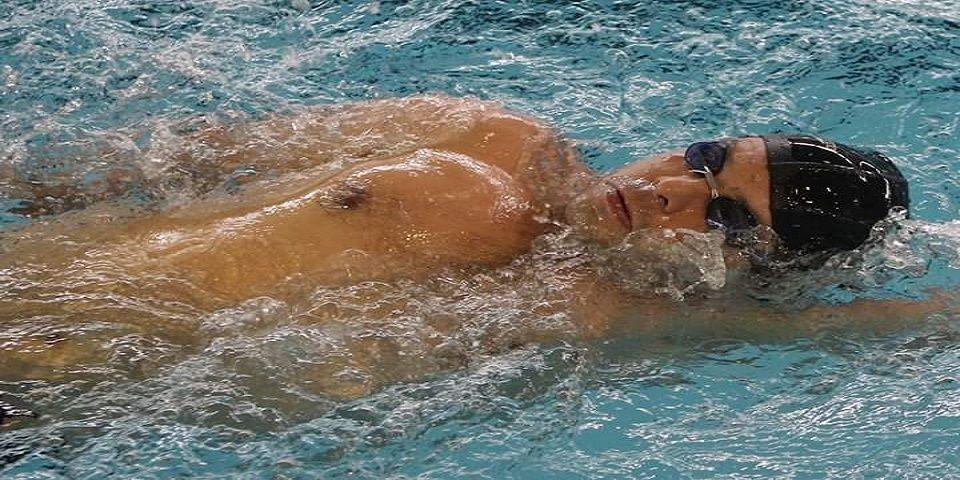 Édgar Pineda, sexto lugar final de 50 metros nado mariposa - Foto de @CUFIDE_Edomex