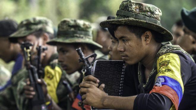 ONU e Iglesia piden continuar con el cese al fuego en Colombia - Las extintas guerrillas de las FARC. Foto archivo
