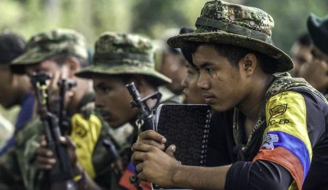 FARC confiesan qué le dirían a la última persona que mataron - Las extintas guerrillas de las FARC. Foto archivo