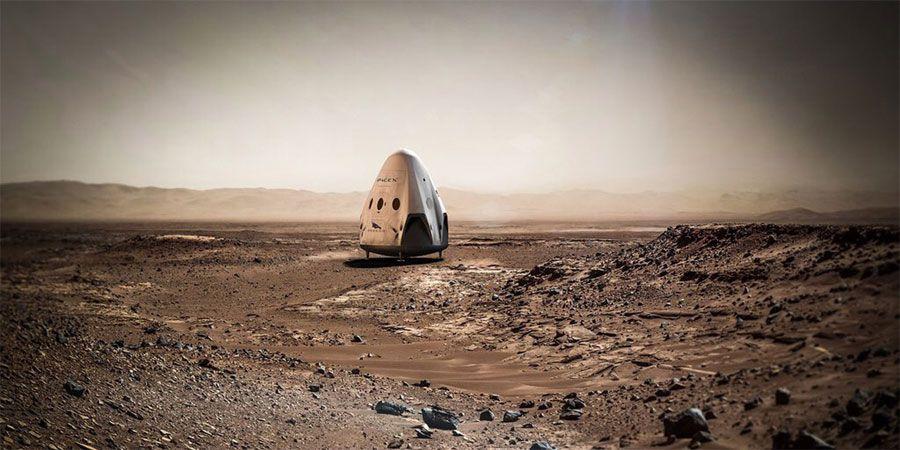 Prototipo de la misión a Marte. Foto de La Tercera