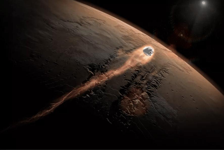 Prototipo de cómo serían los viajes a Marte. Foto de SpaceX