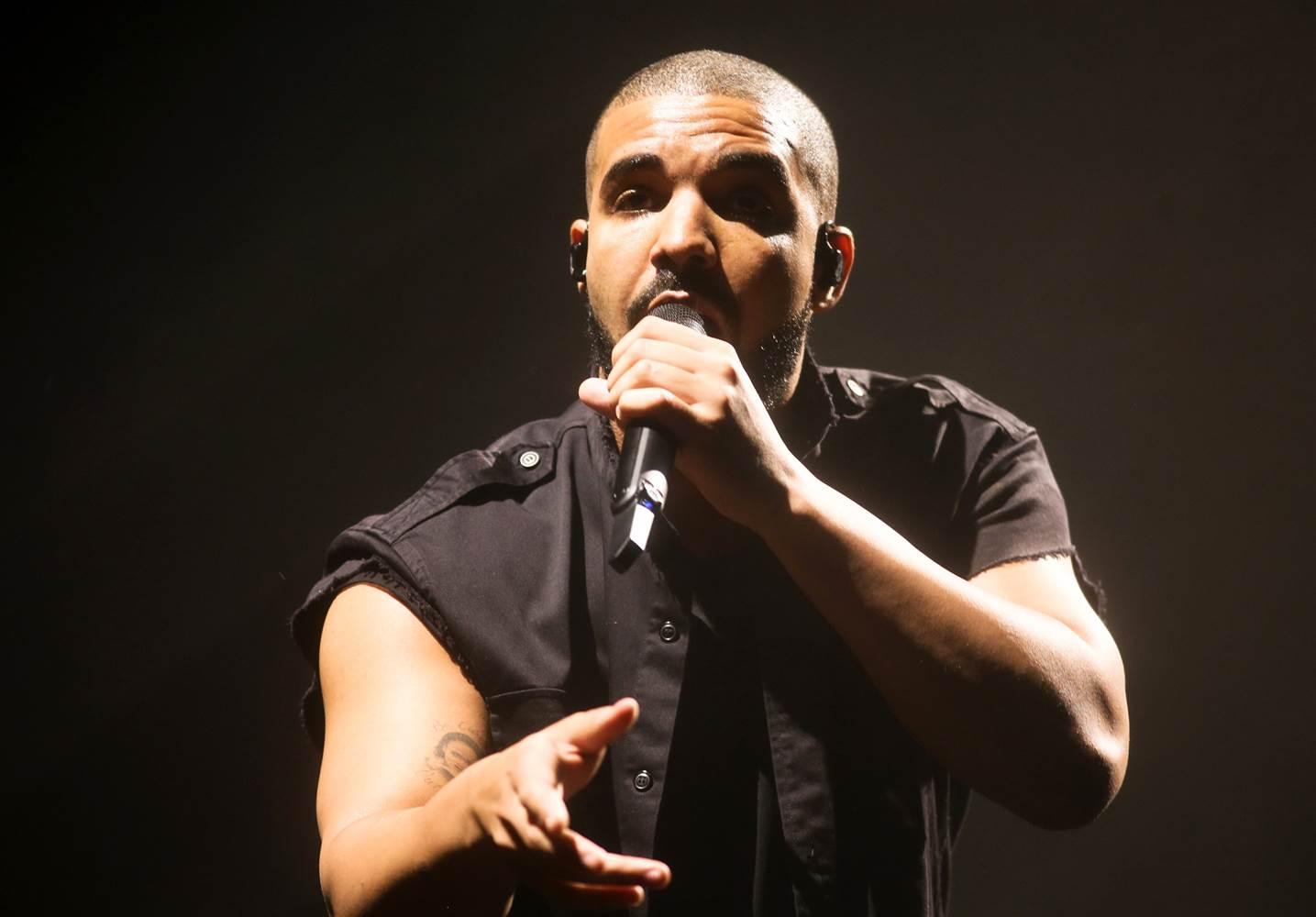 Drake. Foto de AP.