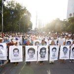 Marcha por Ayotzinapa. Foto de NDMX