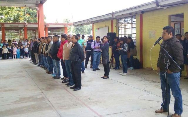 CNTE inicia ciclo escolar en Nochixtlán - Foto de Oaxaca Hoy.