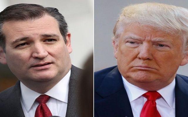 Ted Cruz respalda a Donald Trump