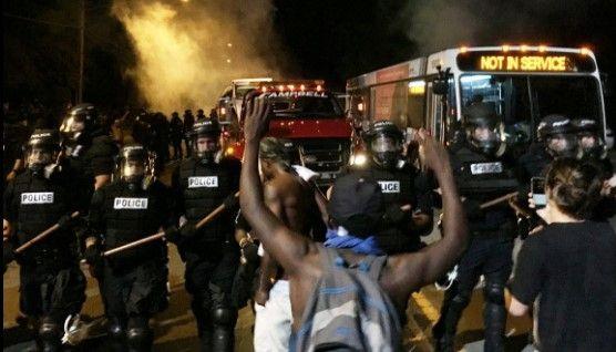 Declaran estado de emergencia en Carolina del Norte por disturbios - Foto de Twitter