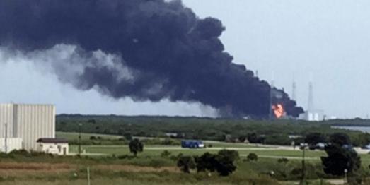 Explota cohete en Cabo Cañaveral
