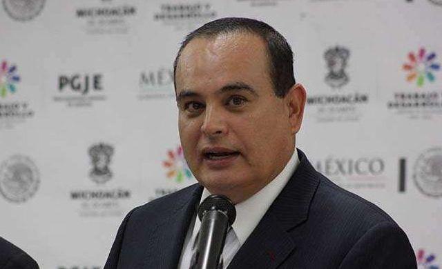 Procuraduría de Michoacán admite deficiencias en caso Tanhuato - José Martín Godoy Castro, procurador general de Michoacán. Foto de Archivo