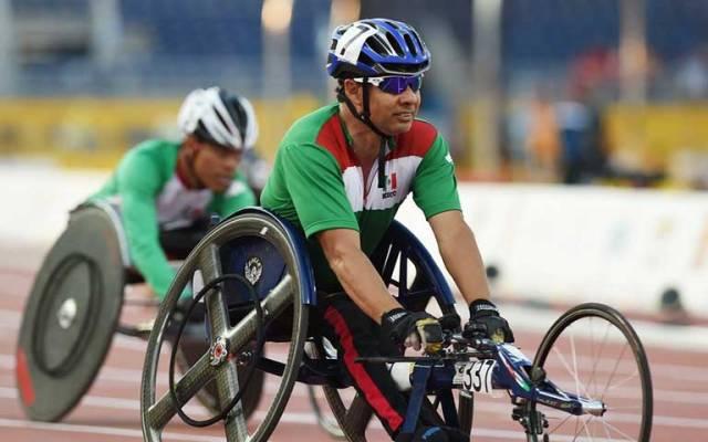 Salvador Hernández gana el bronce en 100 metros T52 - Foto de CONADE