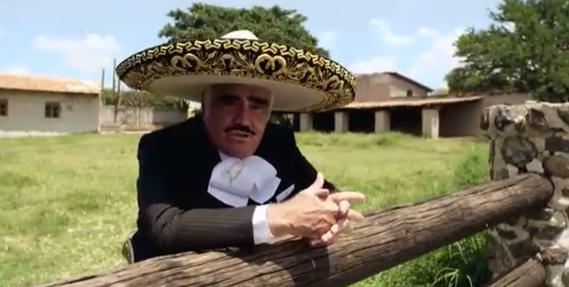 Video: el corrido de Vicente Fernández a Hillary Clinton