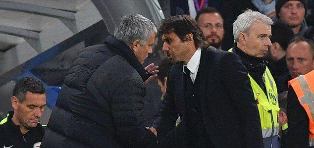 Video: Mourinho encara a Conte al final del juego