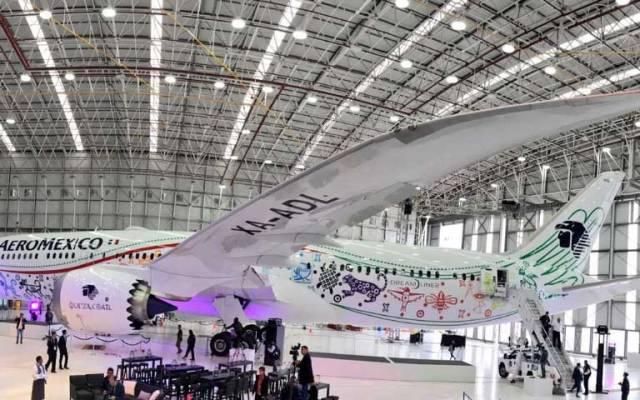 Presentan a Quetzalcóatl, el nuevo B789 de Aeroméxico