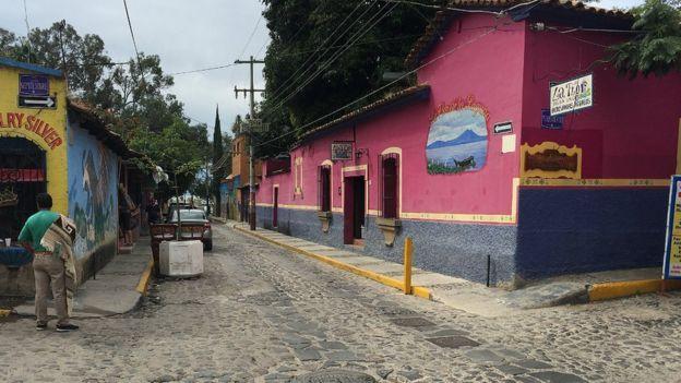 El pueblo predilecto de estadounidenses que vienen a México a retirarse - Foto de BBC