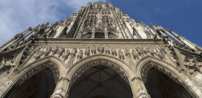 Orina daña la iglesia más alta del mundo - Foto de Internet