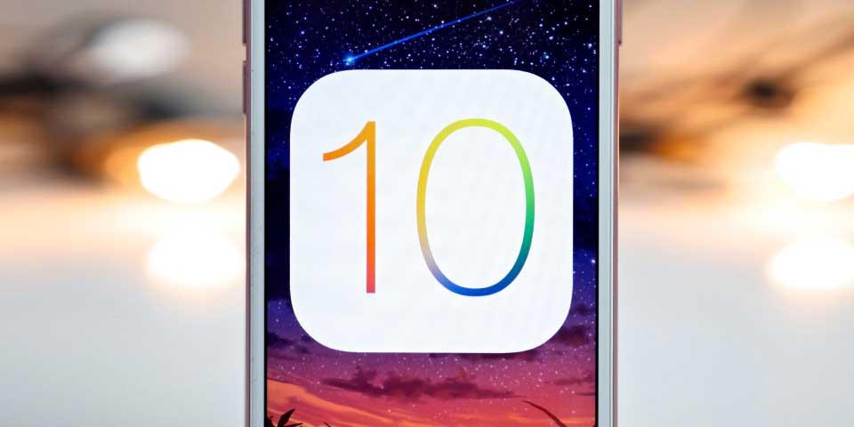 Lanzan actualización de iOS 10 para iPhone 7 - Foto de Internet