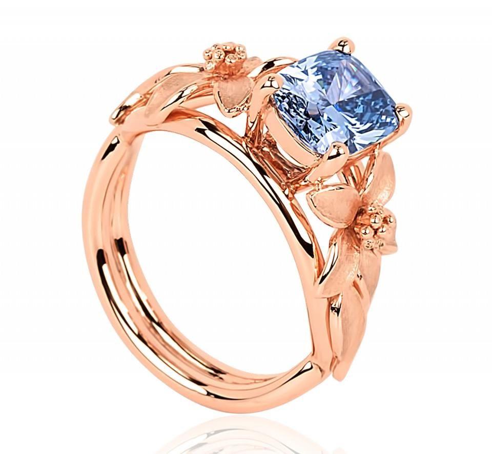 El anillo Jane Seymour, desarrollado por World of Diamonds, también será parte de la cena más cara del mundo. Foto de Internet