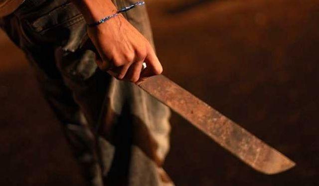 Mujer ataca con machete a su pareja en Quintana Roo