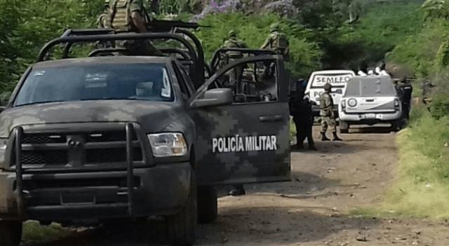 Encuentran 4 cuerpos embolsados en Michoacán