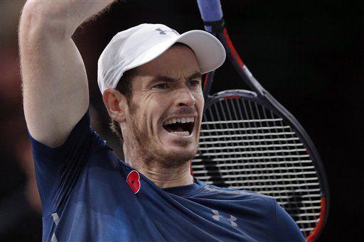 Andy Murray el nuevo número uno del ranking - Foto de AP